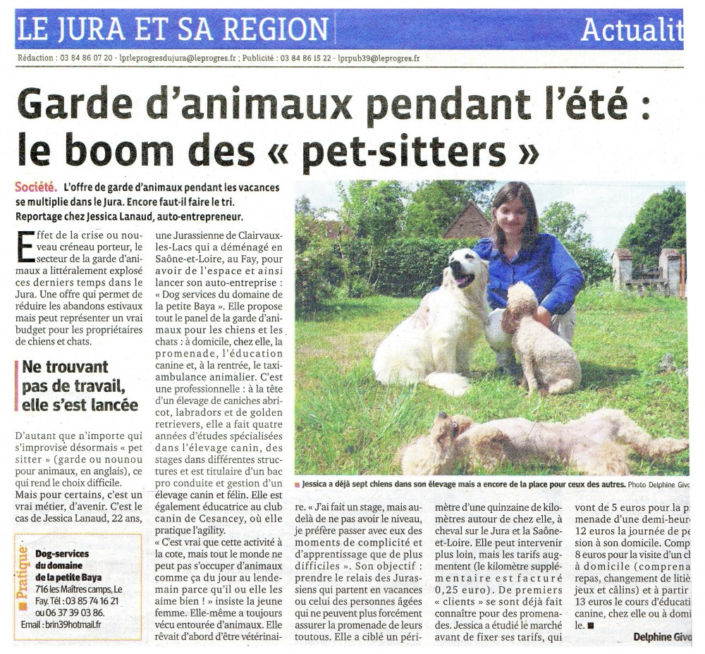 pension chien 22